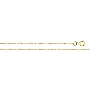 CH12 / 14K Yellow / 16 INCH / Polished / SOLID ROPE CHAIN